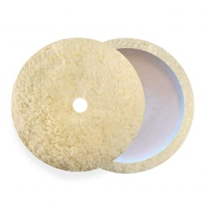 curved twisted wool pad for polishing st1